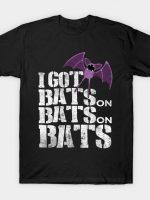 bats on bats on bats T-Shirt