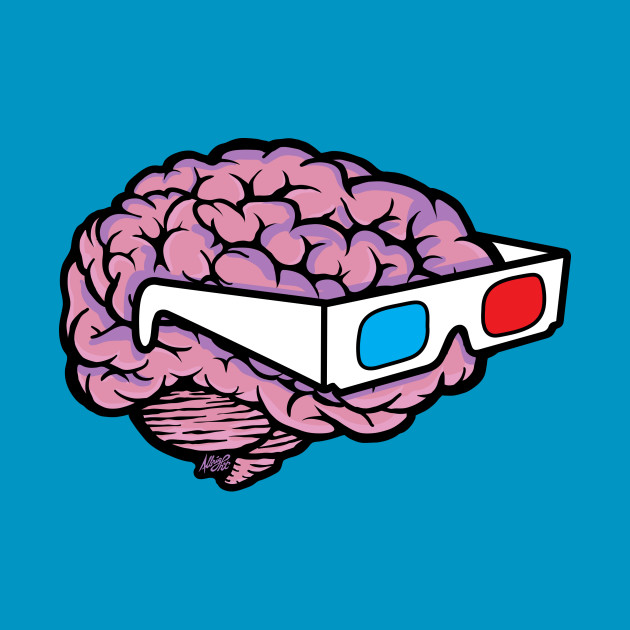 3D Glasses Blow My Mind