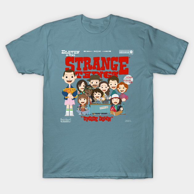 Eleven & the Strange Things