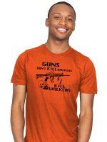 Guns Don't Kill Walkers T-Shirt