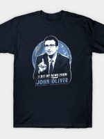 I Get My News From John Oliver T-Shirt