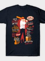 Shaun Of The Dead Quotes T-Shirt