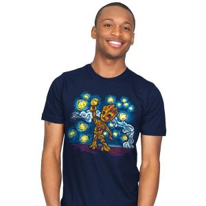 Starry Groot T-Shirt