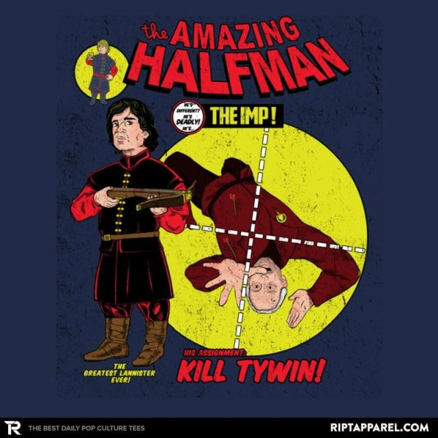 THE AMAZING HALF-MAN