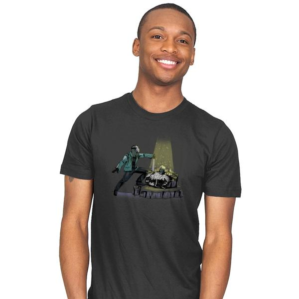 The Machete in the Stone T-Shirt