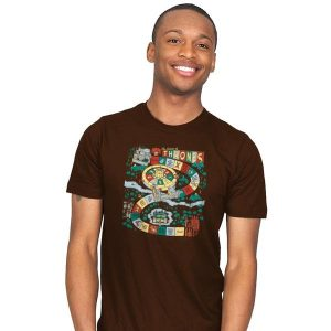 You Live or You Die: A Board Game T-Shirt