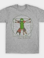 Vitruvian Pickle Man T-Shirt