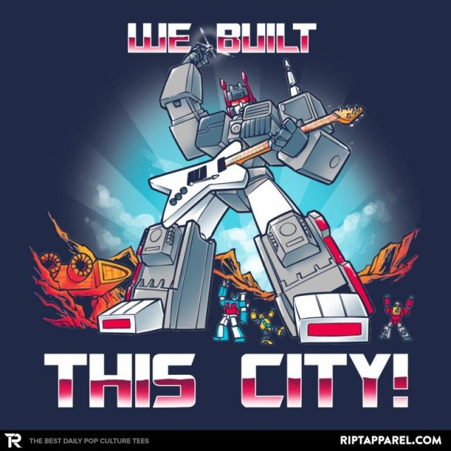 We Built This City!