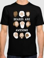 Beards Are Awesome T-Shirt
