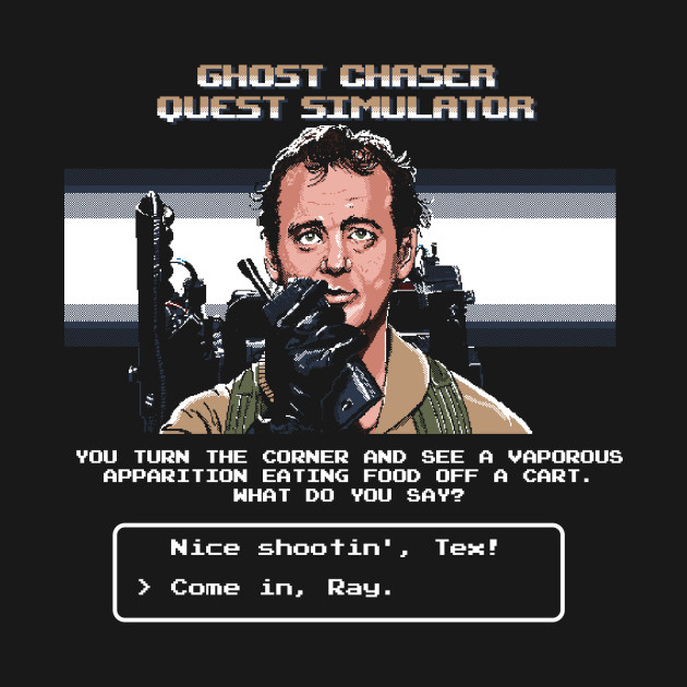 Ghost Chaser Quest Simulator