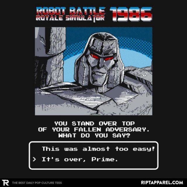 Robot Battle Royale Simulator 1986