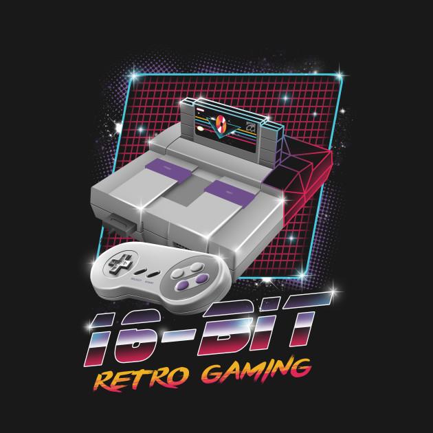 16-Bit Retro Gaming
