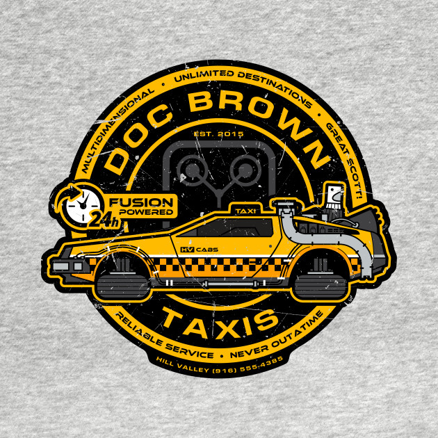 Doc Brown Taxis