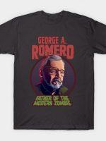 George A. Romero Color T-Shirt
