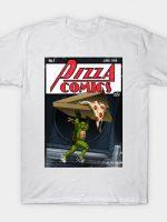 Pizza Comics - Featuring Michelangelo T-Shirt