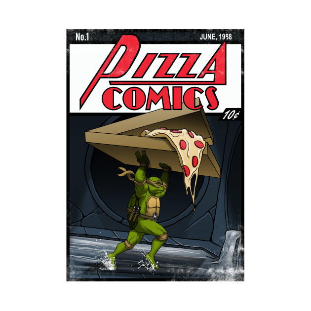 Pizza Comics - Featuring Michelangelo