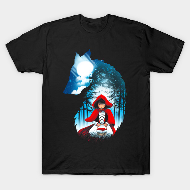 Red Hood Wolf
