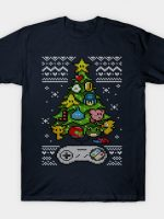 A Classic Gamer Christmas T-Shirt