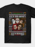 An Ugly Slasher Sweater T-Shirt