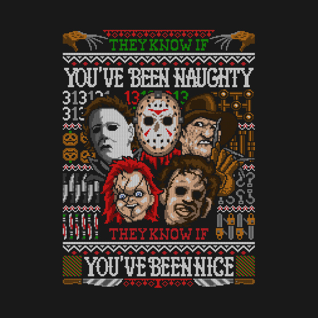 An Ugly Slasher Sweater