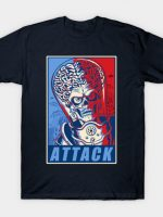 Attack! Blue & Red T-Shirt