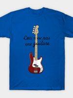 Ceci n´est pas une guitare vers.2 T-Shirt
