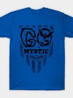 Go Blue Black Ink T-Shirt
