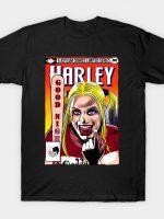 Harley Asylum Comic T-Shirt