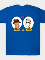 Horror TV Freddy vs Jason T-Shirt