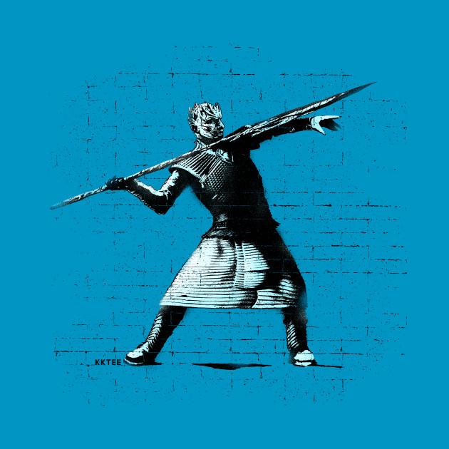 Ice spear throw