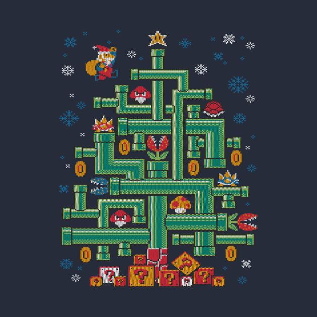 It's-a tree, Mario!