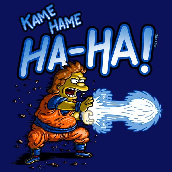 KAME HAME HA-HA!