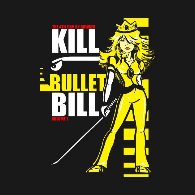 Kill Bullet Bill (Black & Yellow Variant)