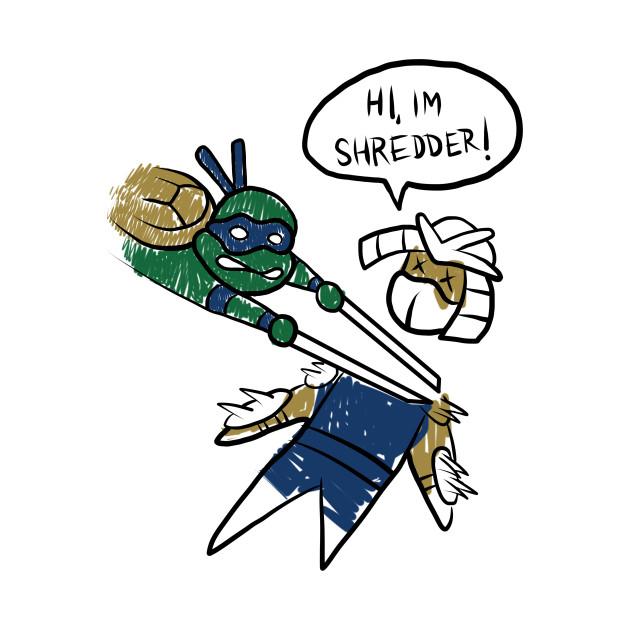 Leonardo Shredder Sketch