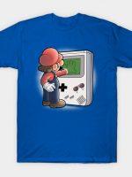 Mario Through the console T-Shirt