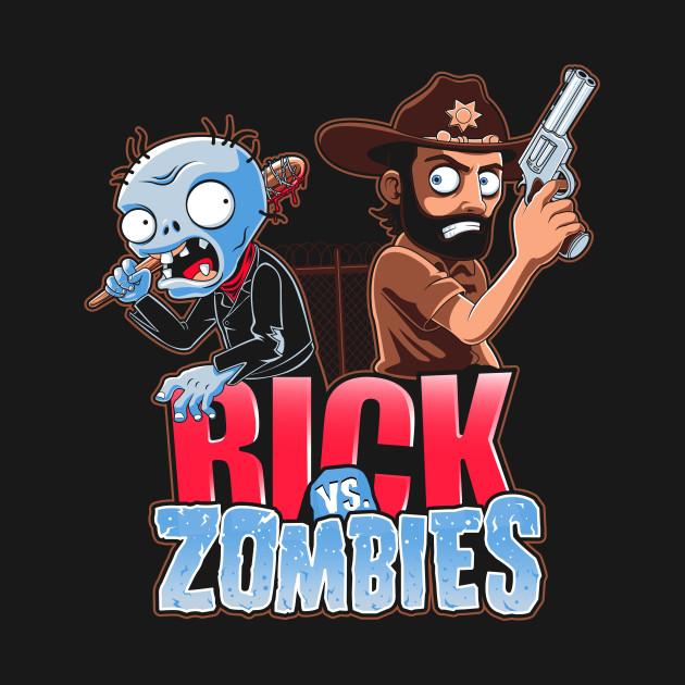 Rick vs Zombies
