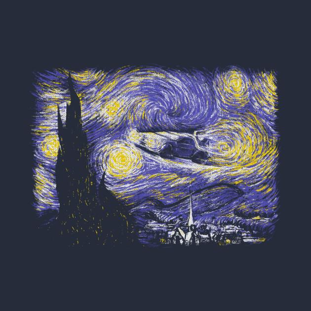 Starry Delorean