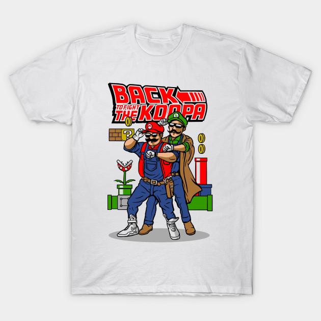 Super Mario Back To The Future