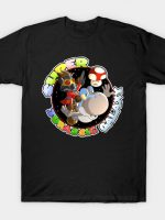 Super Mario Jurassic Galaxy Gaming Adventure T-Shirt