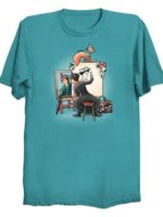 Triple Mary-Portrait T-Shirt