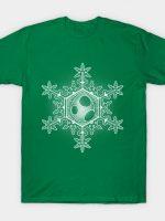 Yoshi Egg Snowflake T-Shirt