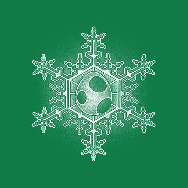 Yoshi Egg Snowflake