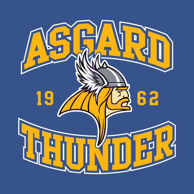 Asgard Gods Football Team Logo
