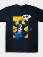 Bat in black T-Shirt
