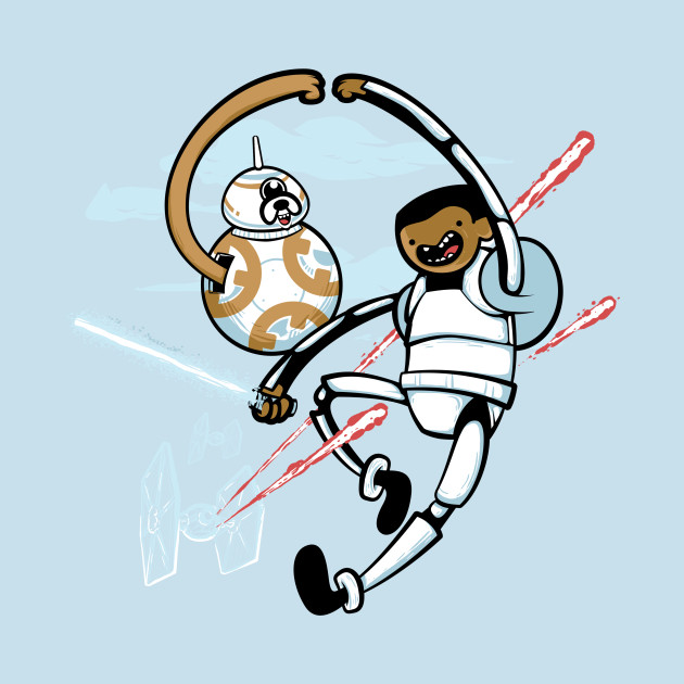 Finn e BB-8