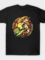 Planet Zebes Roller Girls T-Shirt