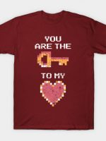 The Key to My Heart T-Shirt