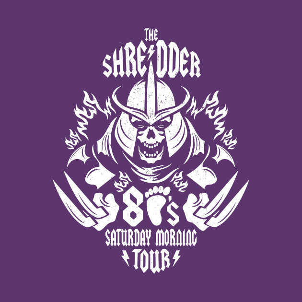 The Shredder 80's Tour