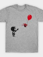 villager with a ballon T-Shirt