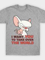 Brain wants you T-Shirt
